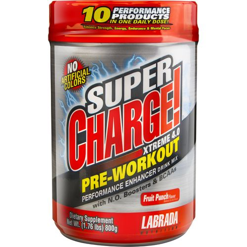 Image for Labrada Preworkout Super Charge! Xtreme N.O. Drink Mix from Academy