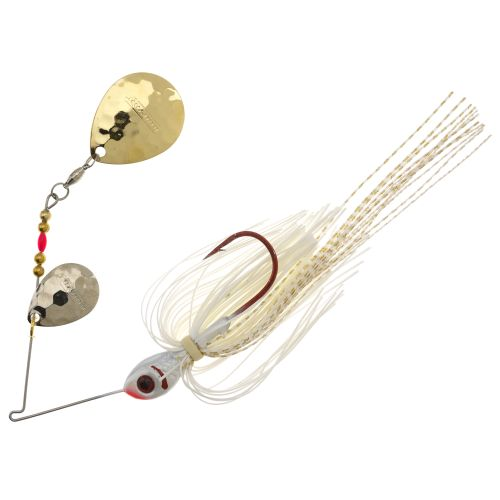 BOOYAH Tux and Tails 1/2 oz Double Colorado Blade Spinnerbait