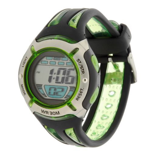 Image for Aqualite Men's LCD Watch from Academy
