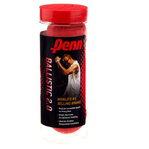 Display product reviews for Penn Ballistic Racquetball Can 3-Pack