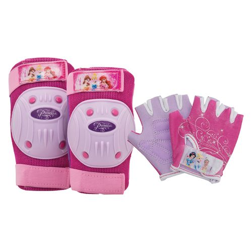 Bell Girls' Disney Princess Pad and Glove Set