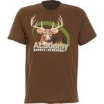 Academy Sports + Outdoors™ Men's Oval Dear Print T-shirt