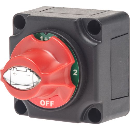 Marine Raider Small 2-Battery Switch - view number 1