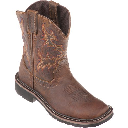... Justin Kidsu0027 Rugged Buffalo Boots   View Number ...