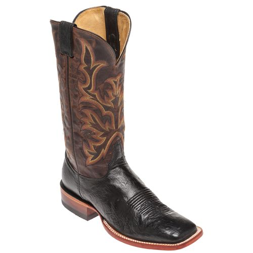 Justin Men's Exotics Smooth Ostrich Western Boots - view number 3