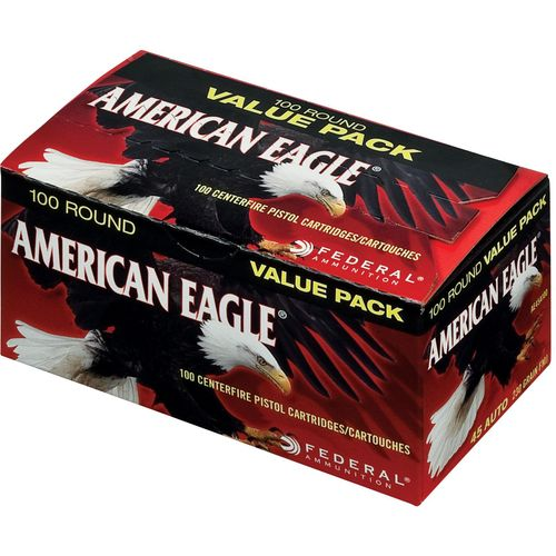 Display product reviews for Federal® American Eagle .45 Auto 230-Grain Centerfire Rifle Ammunition