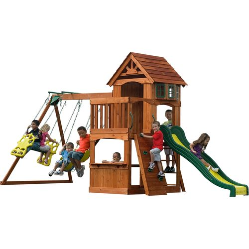 Backyard Discovery™ Atlantis Wooden Swing Set