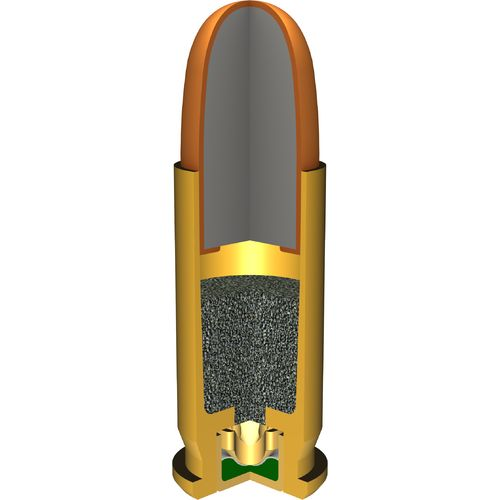 Winchester USA Full Metal Jacket .25 Automatic 50-Grain Handgun Ammunition - view number 2