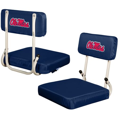 Logo Chair University of Mississippi Hard Back Stadium Seat