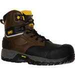 Magnum Boots Men's Halifax 6.0 Composite-Toe Composite-Plate Waterproof Safety Boots