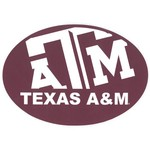 "Stockdale Texas A&M University 5"" x 7"" Repositionable Decal"