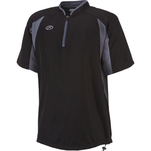 Rawlings Adults' Short Sleeve Batting Cage Jacket