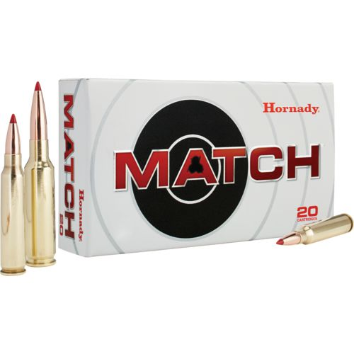 Hornady BTHP Match™ .308 Winchester 168-Grain Centerfire Rifle Ammunition - view number 1