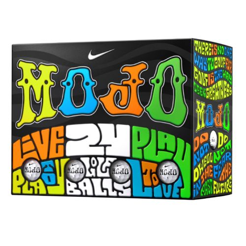 Nike Mojo Lucky No. 7 Golf Balls 24-Pack