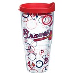 Tervis Atlanta Braves Bubble Up 24 oz. Tumbler with Lid