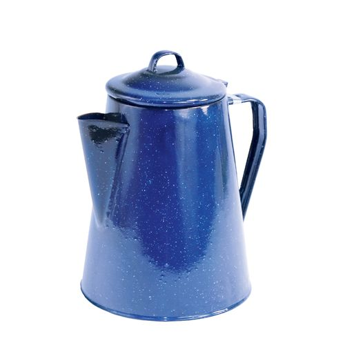 Display product reviews for Texsport 12-Cup Enamelware Percolator
