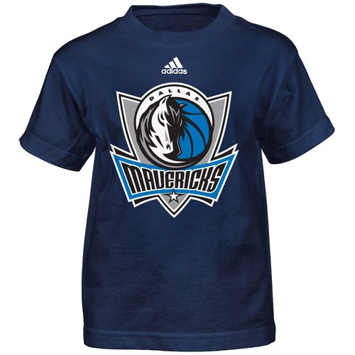 adidas™ Boys' Dallas Mavericks Primary Logo Short Sleeve