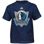 adidas™ Boys' Dallas Mavericks Primary Logo Short Sleeve T-shirt