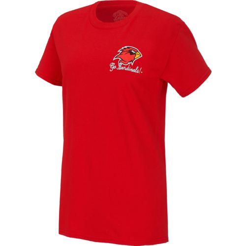 New World Graphics Women's Lamar University Bright Bow T-shirt