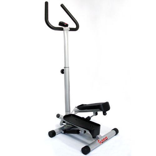 Sunny Health & Fitness No. 059 Twist Stepper with Handle Bars