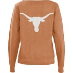 Three Squared Women's University of Texas Arial Fleece Top