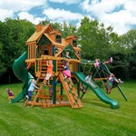 Gorilla Playsets™ Malibu Deluxe I™ Swing Set - view number 2