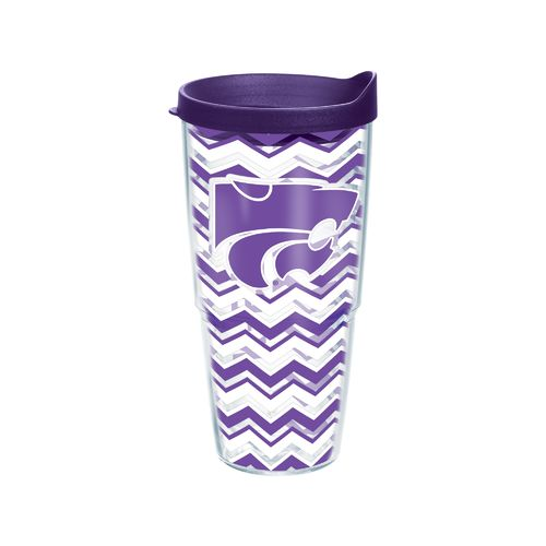Tervis Kansas State University Chevron Tumbler with Lid
