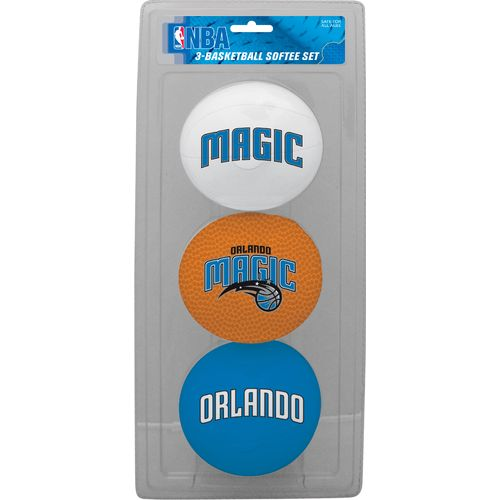 Jarden Sports Licensing Kids' Orlando Magic 4' Softee Balls 3-Pack