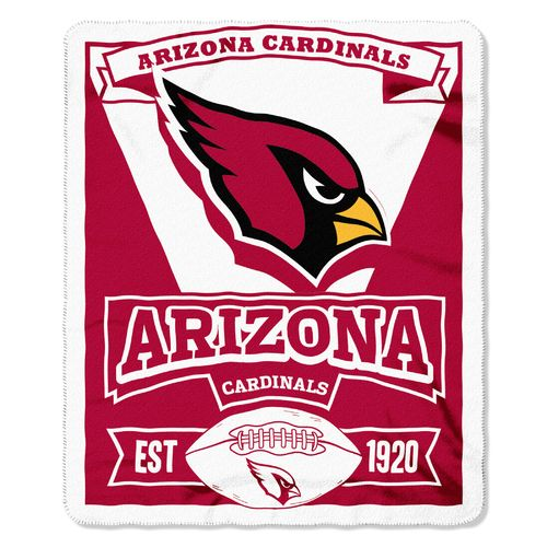 The Northwest Company Arizona Cardinals Marquee Fleece Throw - view number 1