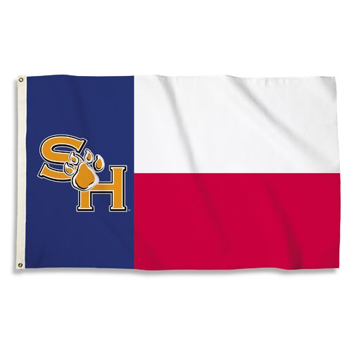 BSI Sam Houston State University Texas Motif Flag