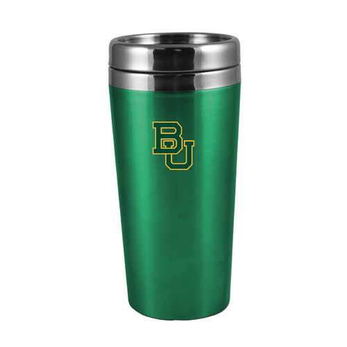 The Fanatic Group Baylor University 16 oz. Rubberized Stainless-Steel Tumbler