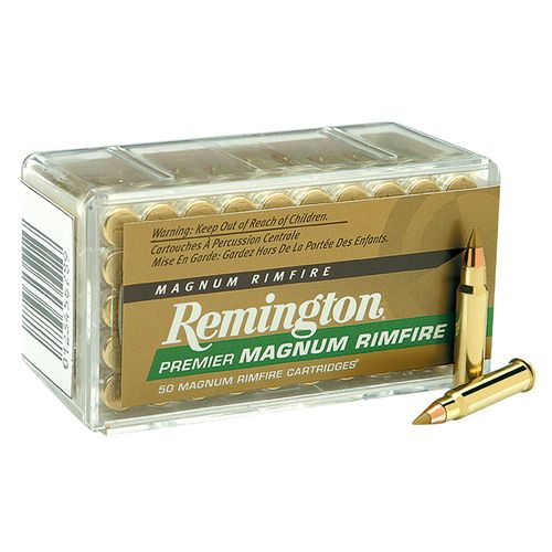 Remington Premier Gold Box .22 Win. Magnum Rimfire Ammunition