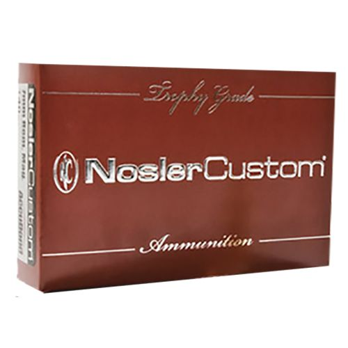 Nosler Custom Trophy Grade .270 Win Short Magnum 140-Grain Centerfire Rifle Ammunition