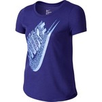Nike Girls' Palm Futura Triblend T-shirt
