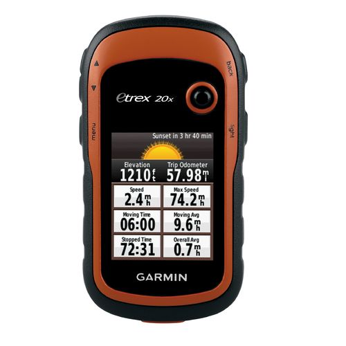how to use handheld gps receiver