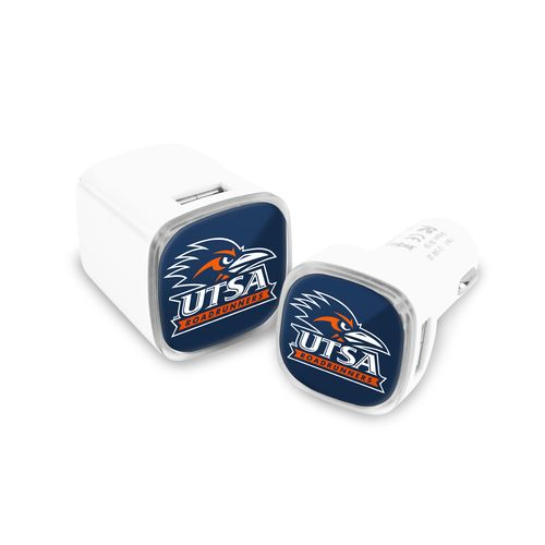 Mizco University of Texas at San Antonio USB Chargers 2-Pack