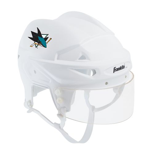 Franklin San Jose Sharks Mini Player Collectible Helmet