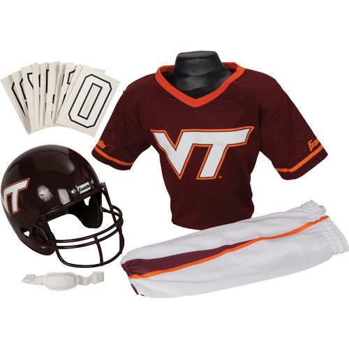 Franklin Kids' Virginia Tech Deluxe Football Uniform Set