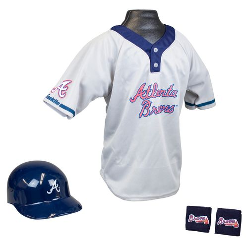 Franklin Kids' Atlanta Braves Uniform Set
