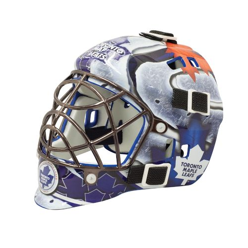 Franklin NHL Team Series Toronto Maple Leafs Mini Goalie Mask - view number 1