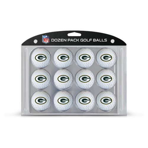 Team Golf Green Bay Packers Golf Balls 12-Pack