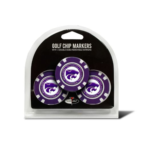 Team Golf Kansas State University Poker Chip and Golf Ball Marker Set - view number 1