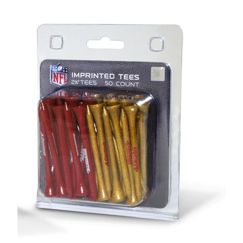 Team Golf San Francisco 49ers Golf Tees 50-Pack