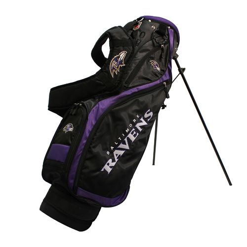 Team Golf Baltimore Ravens Nassau Golf Stand Bag