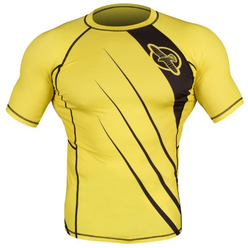 Hayabusa Fightwear Men's Recast Short Sleeve Rash Guard