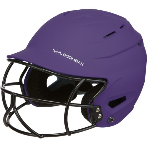 Boombah Kids' Defcon Sleek Profile Softball Helmet with Mask - view number 1