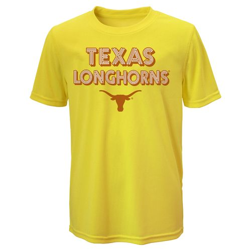 NCAA Boys' University of Texas Short Sleeve Clima T-shirt