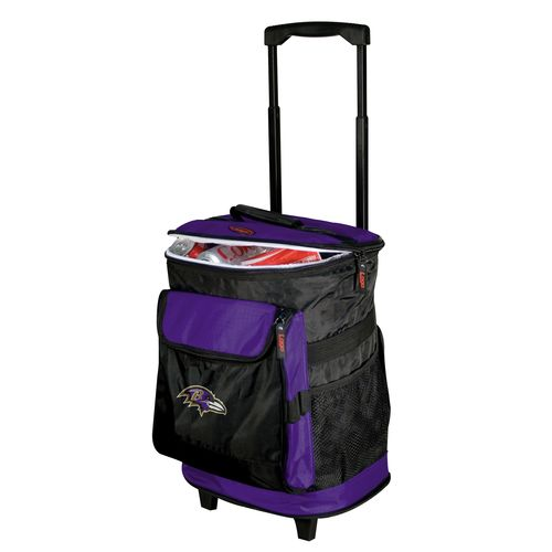 Logo™ Baltimore Ravens Rolling Cooler - view number 1