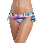 Aqua Couture Women's Paradise Stripe Hipster Swim Bottom