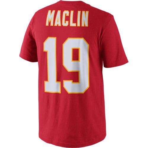 Nike Men's Kansas City Chiefs Jeremy Maclin 19 Player Pride N&N T-Shirt